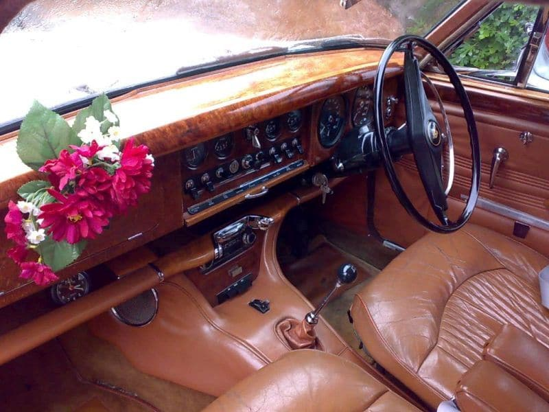 1967 S-Type Jaguar Interior