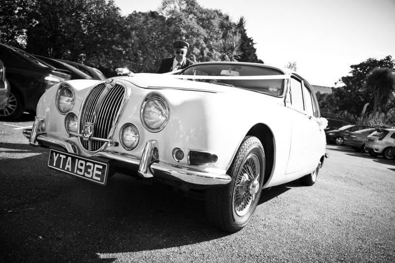 1967 S-Type Jaguar B&W
