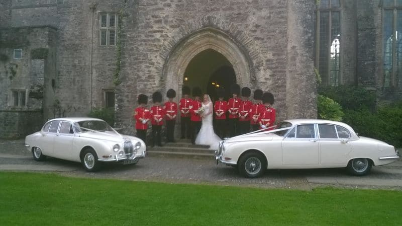S-Type Jaguars Wedding