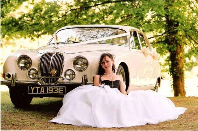 S-Type Jaguar Wedding