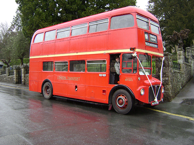 1964 London Transport Routemaster bus RM1872